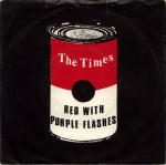 times red with purple front