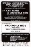 14 iced bears-crocodile ride insert