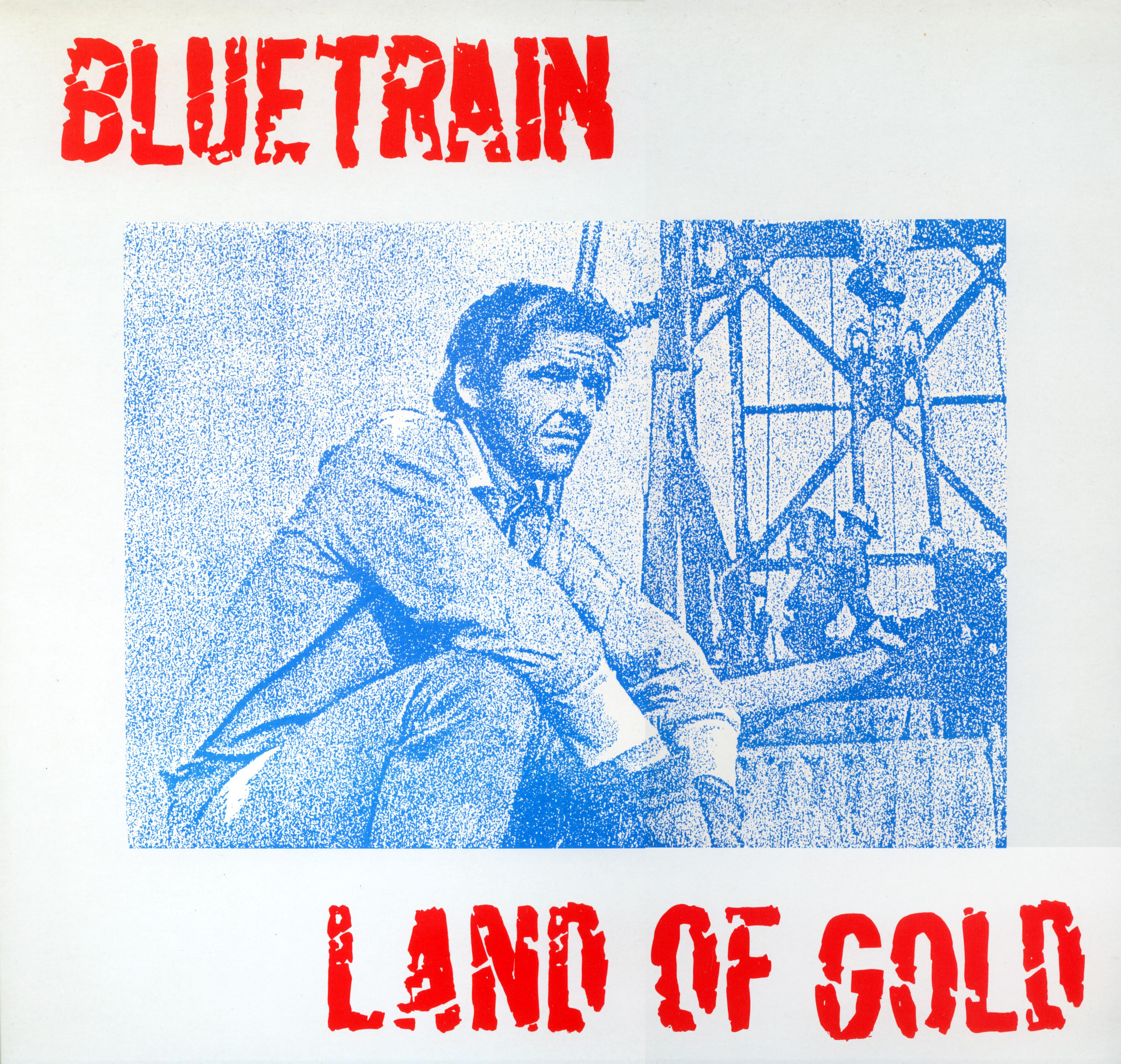 blue train front