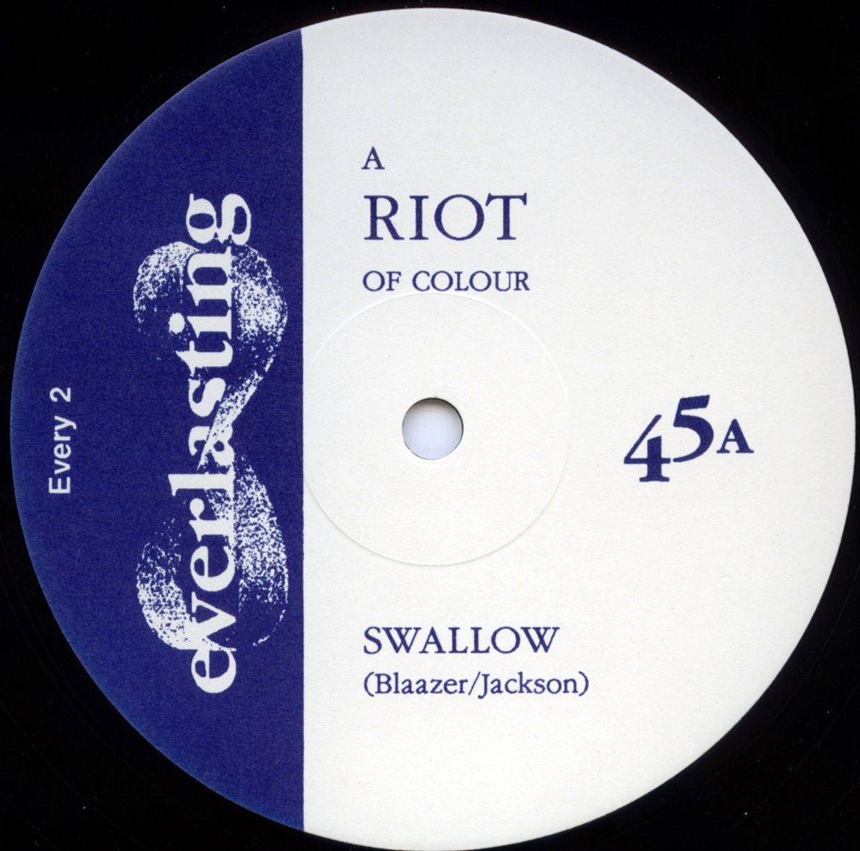 a riot of colour swallow aside